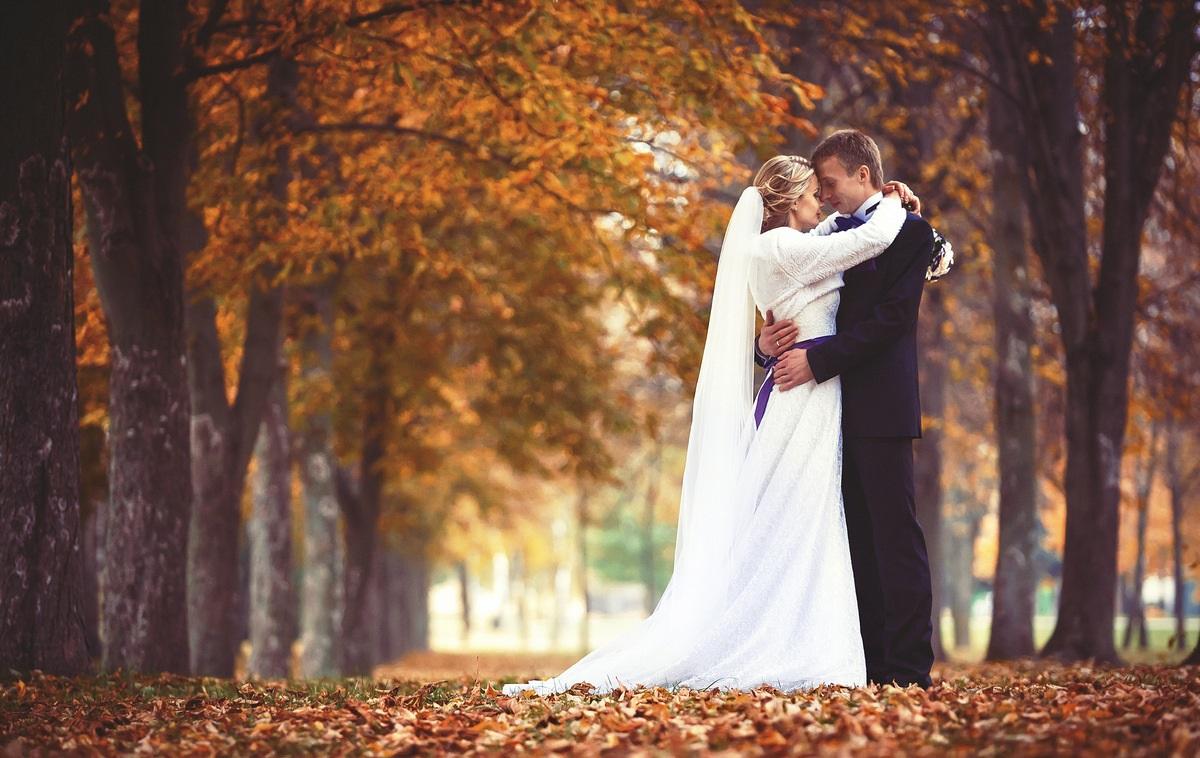 Свадьба в октябре