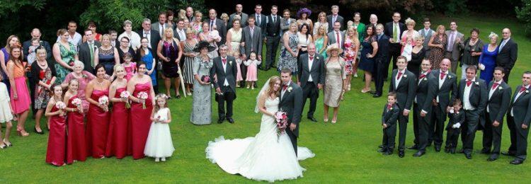 Свадебное семейное фото