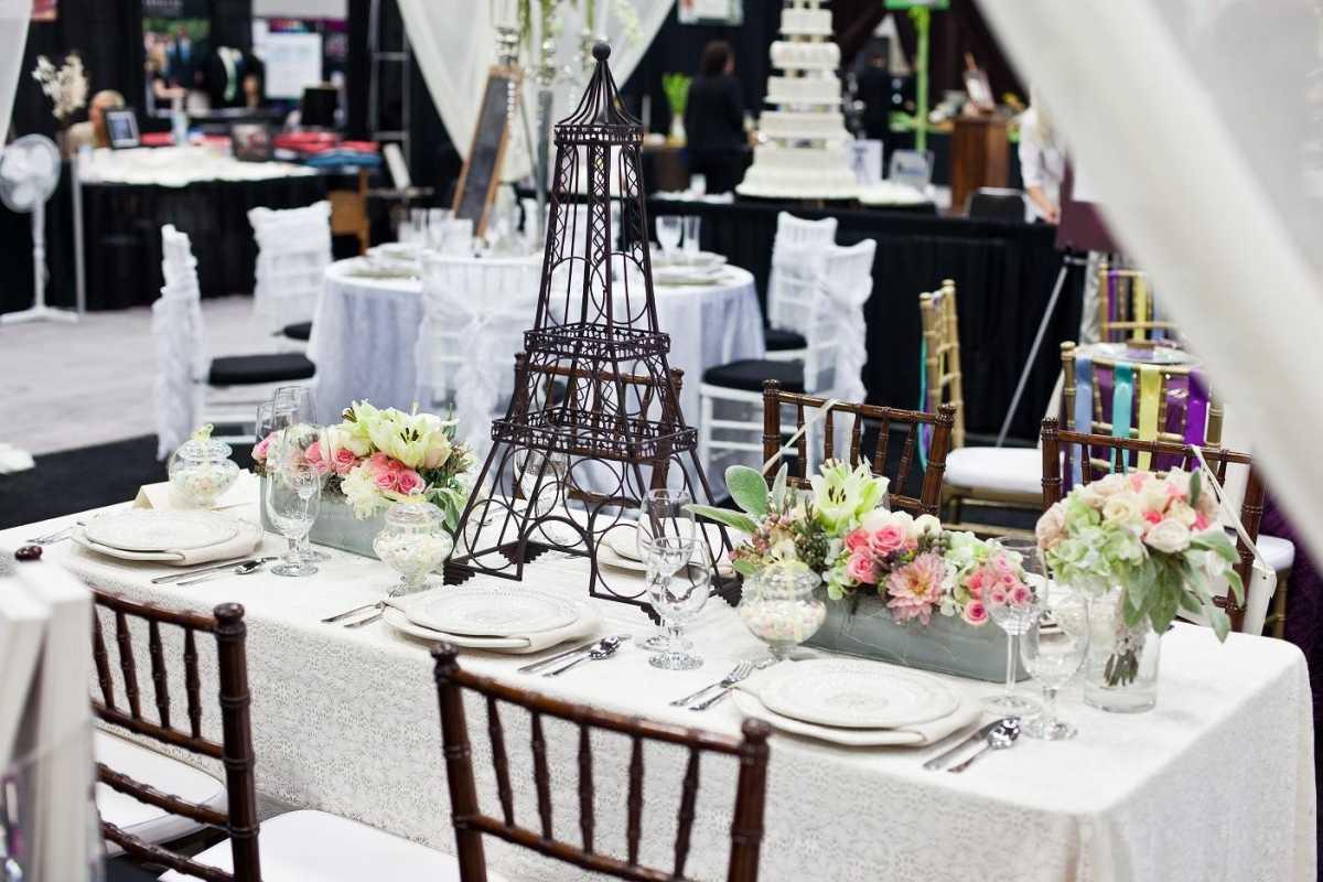 Стиль свадьбы Париж