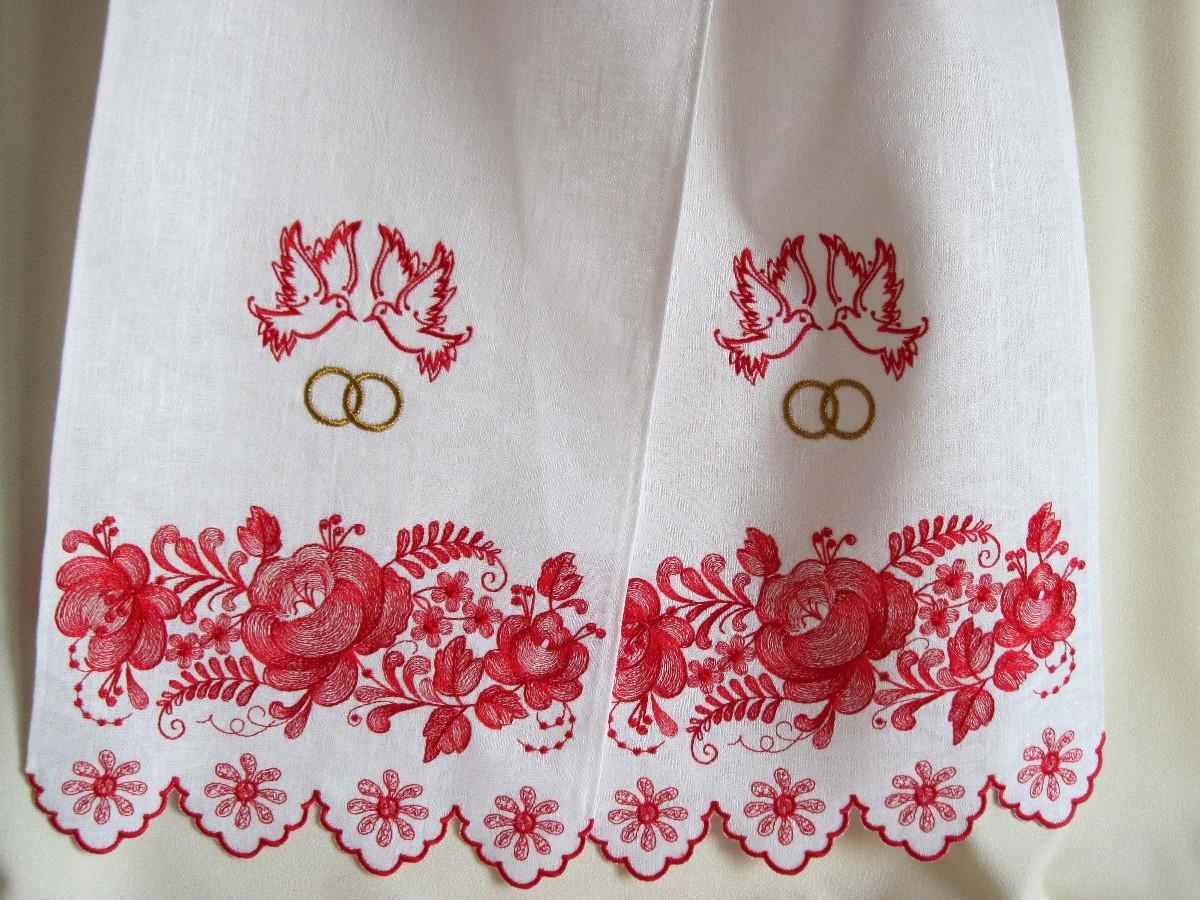 Венчальный рушник на свадьбу