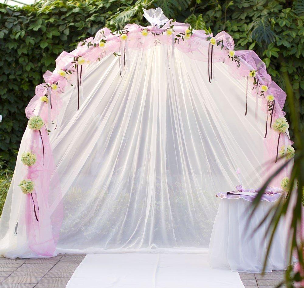 Самодельная свадебная арка