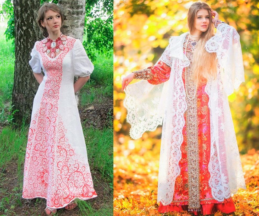 Русские свадебные платья