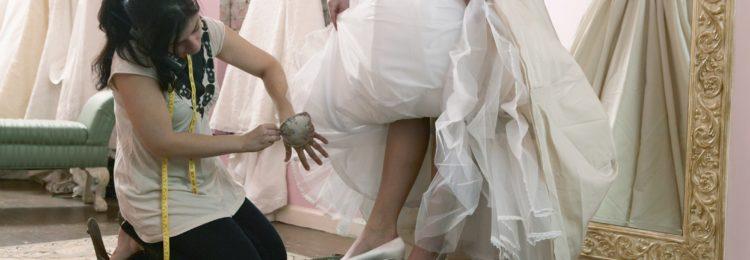 Некачественное свадебное платье