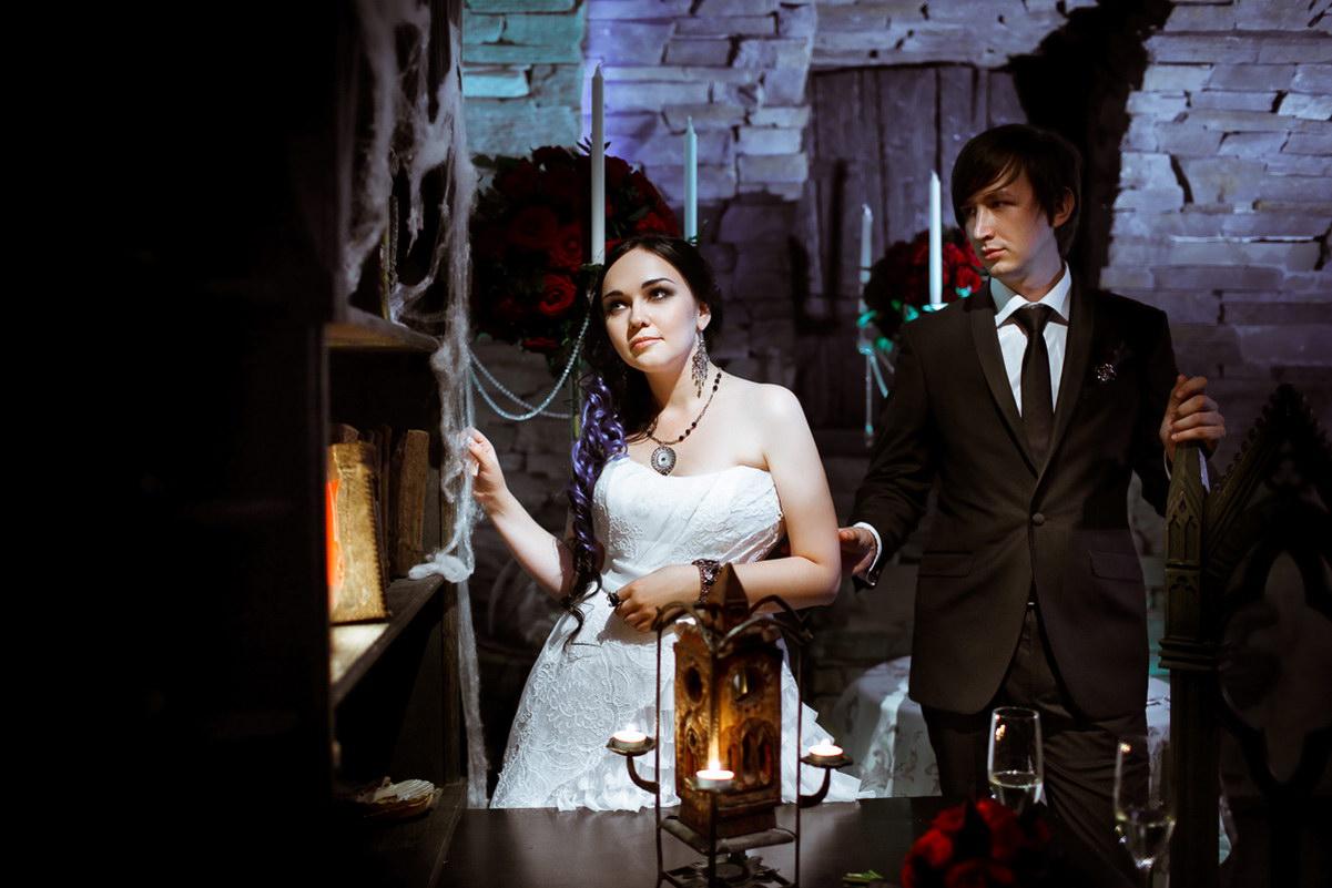 Свадьба в готичном стиле