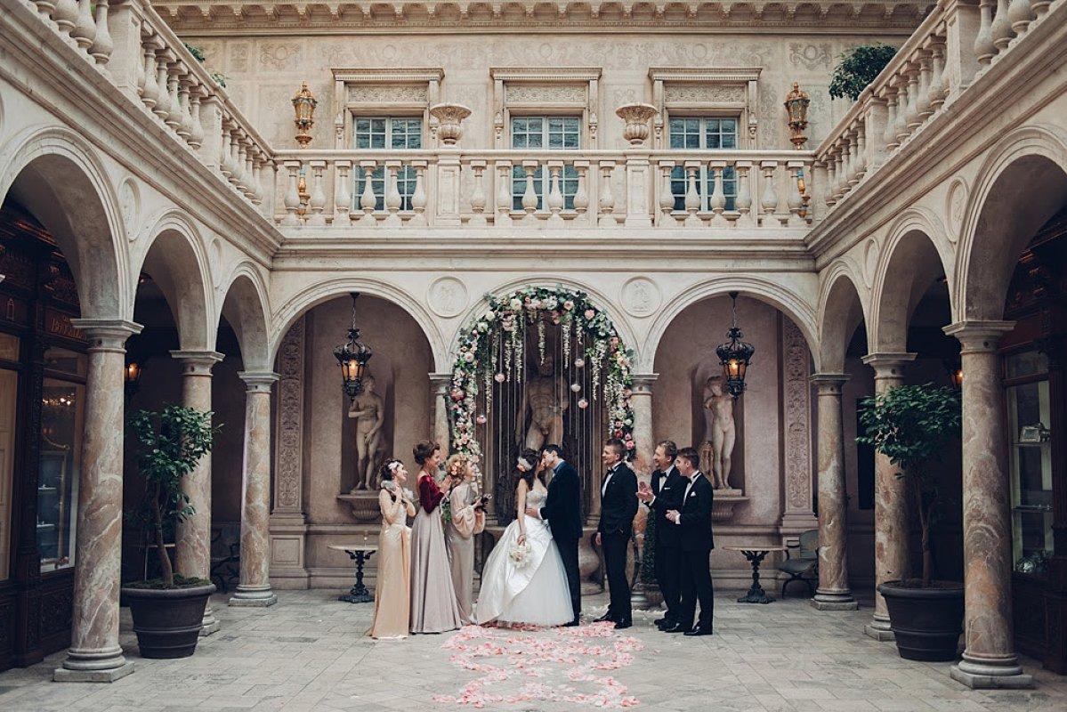 Свадьба в стиле Версаль